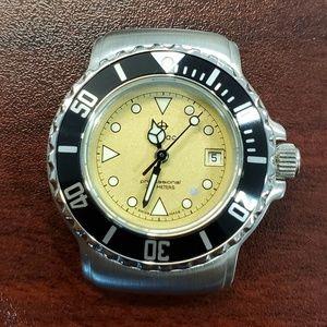 Zodiac Vintage Dot Champagne Dial Unisex Watch